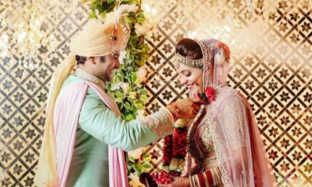 Sugandha Mishra and Sanket Bhoshale are now married