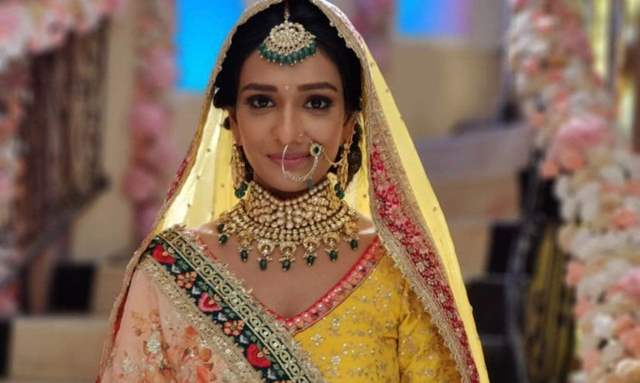 Aishwarya Khare on bridal sequence in Bhagya Lakshmi: I had quite a tough time shooting for this sequence