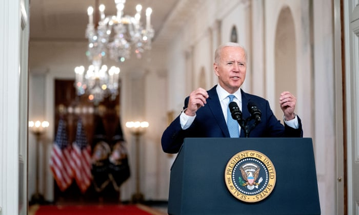 Biden calls for new era in US foreign policy in defensive Afghanistan speech